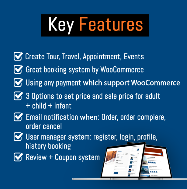 WooTour - WooCommerce Travel Tour Booking - 2