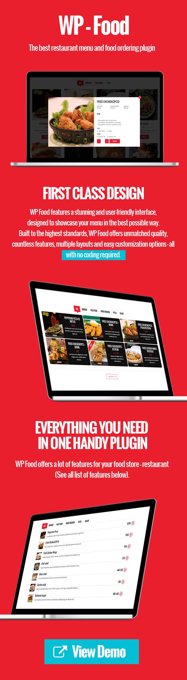 WP Food - Restaurant Menu & Food ordering - 3